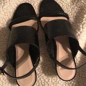 Cole Haan Shoes - Cole haan leather wedges